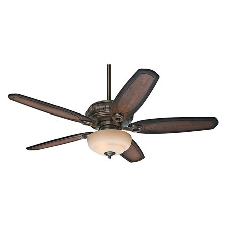 Hunter Fan Company 54140 Kingsbridge 54  Roman Sienna Ceiling Fan With 5 Burnished Cherry Blades