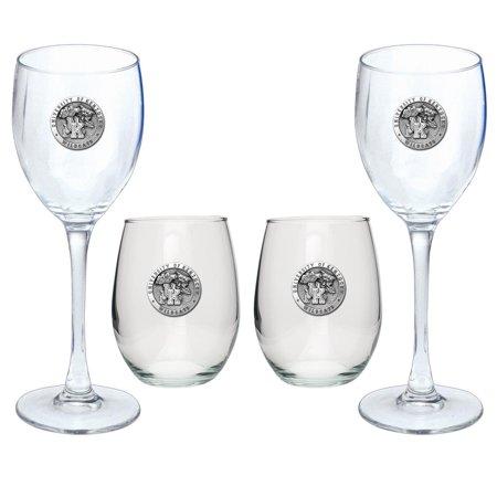 Kentucky Wildcats UK Goblet Set Stemmed/Stemless Wine Glasses (Halloween Goblets Bulk Uk)