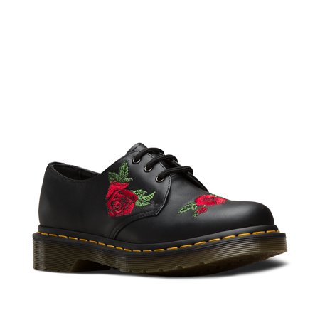 Dr. Martens 1461 Vonda 3 Eye Shoe Black Uk 7 - Girls Dr Martens Shoes