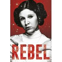 Star Wars Leia Rebel Poster Poster Print