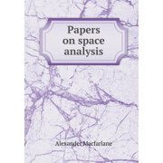 Papers on Space Analysis