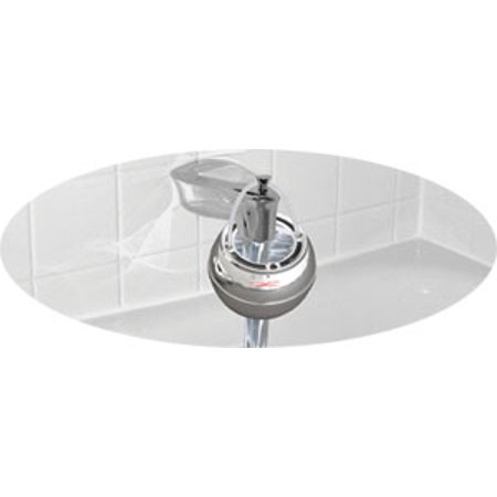Crystal Quest Chrome Bath Ball