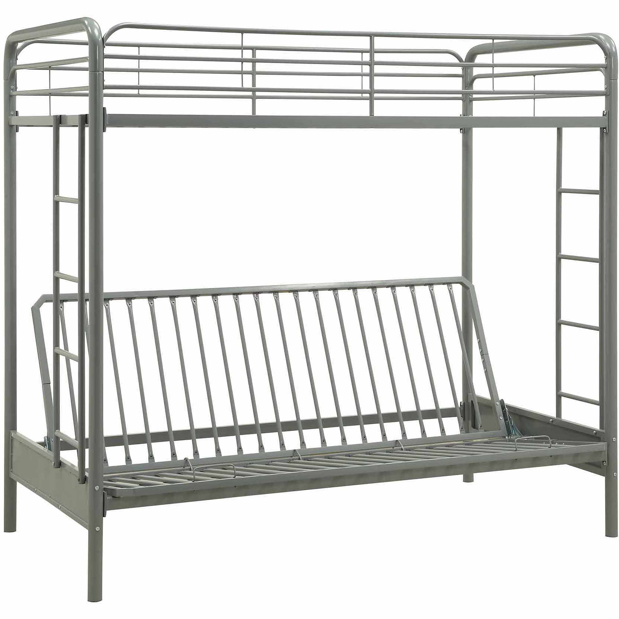 Dhp Twin Over Futon Metal Bunk Bed Multiple Colors Walmart Com
