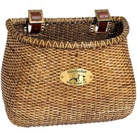 Nantucket Bicycle Basket Co. Gull Lightship Adult Classic Basket, Stained