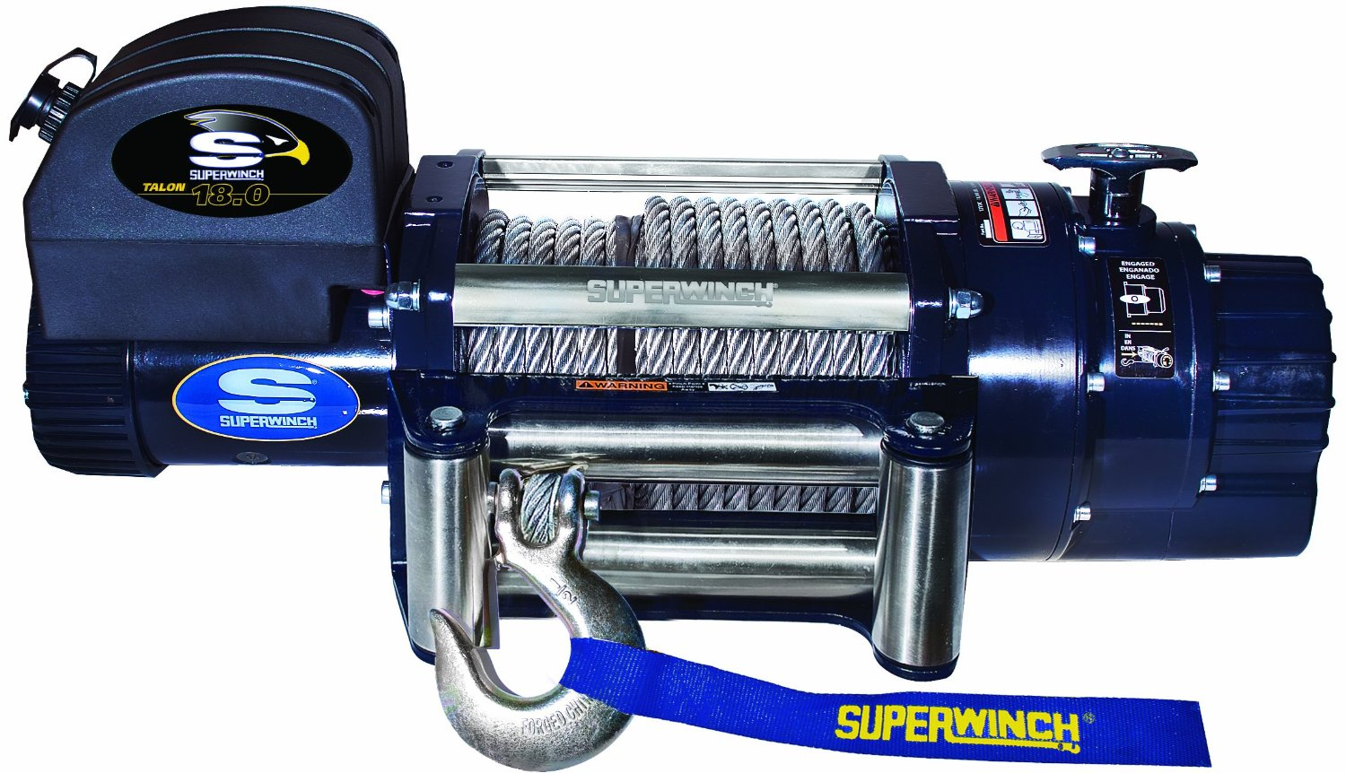 Superwinch 1618200 Talon 18.0, 12 VDC winch, 18,000 lb 8,165 kg capacity with roller fairlead by Superwinch