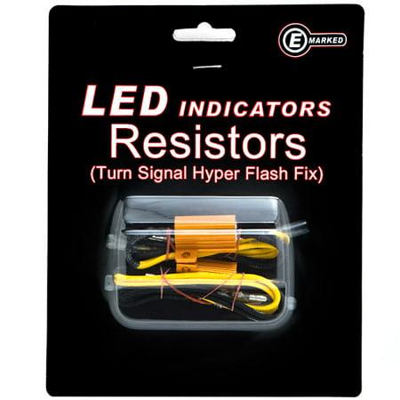 Krator Led Bulb Load Resistors Flash Turn Signal Fix For Yamaha Warrior Blaster Banshee Wolverine - Wolverine Beard