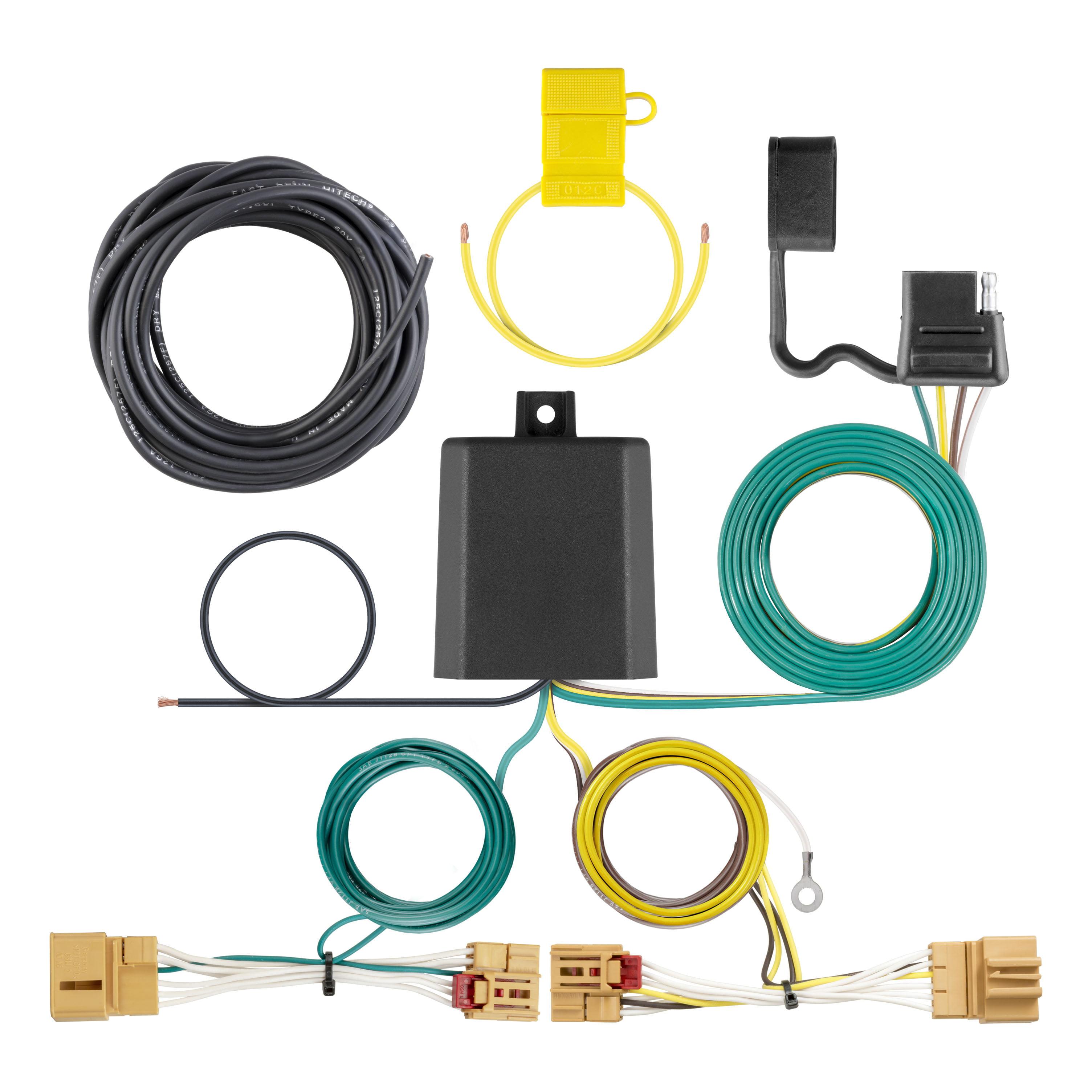 Custom wiring harness way flat output walmart