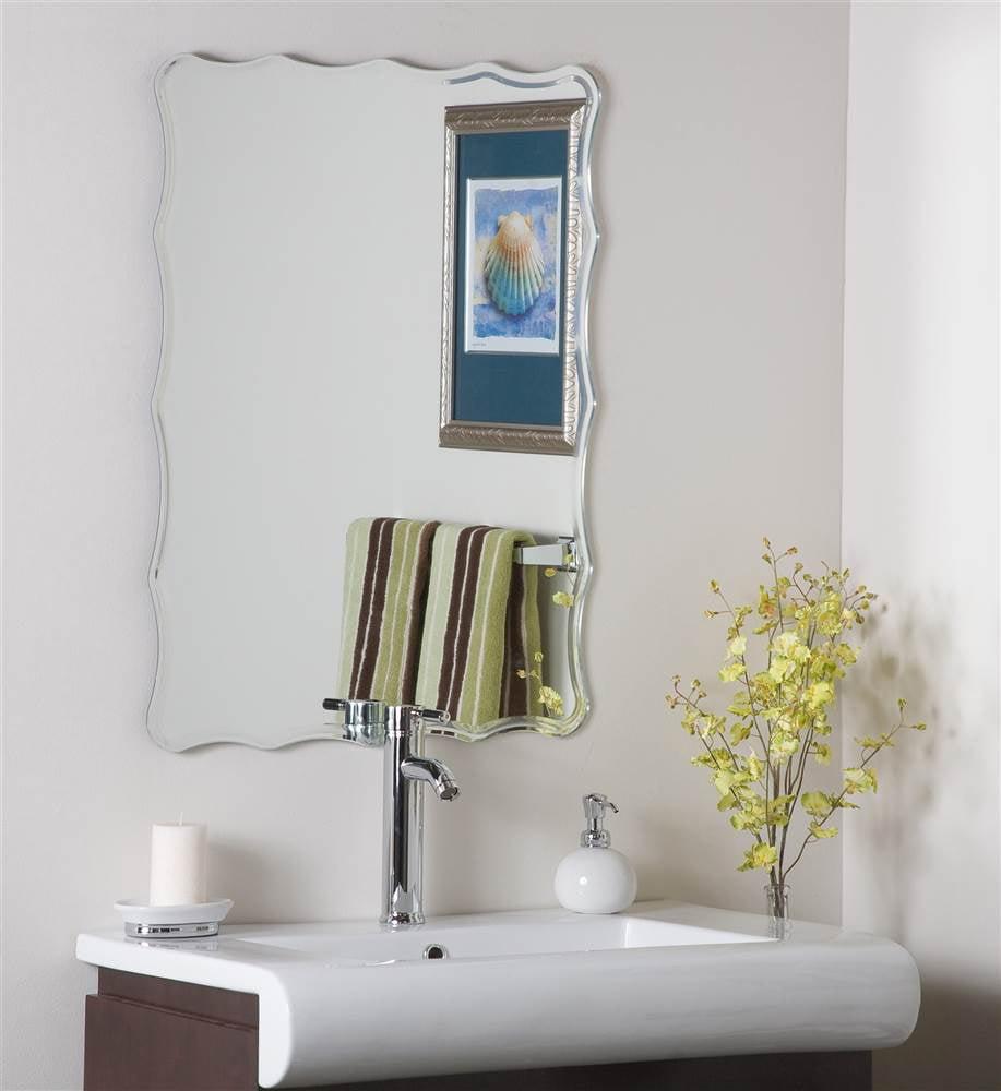 Liana Frameless Wall Mirror