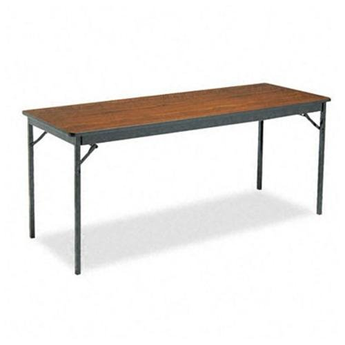 Barricks Classic Folding Table - Rectangle Top - Square Leg Base - 4 Legs - 72\