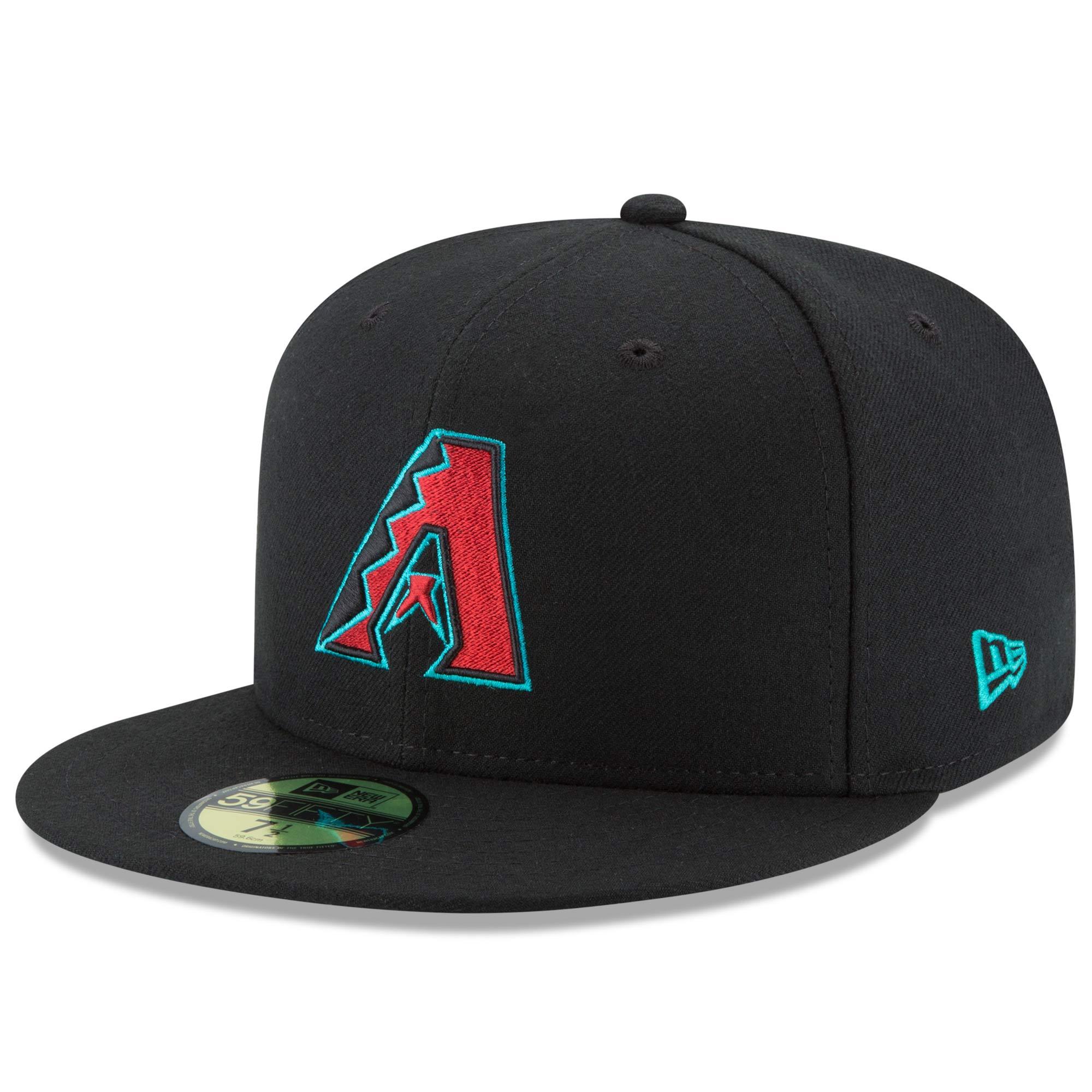 Arizona Diamondbacks New Era Alternate Authentic Collection On Field 59FIFTY Performance Fitted Hat - Black