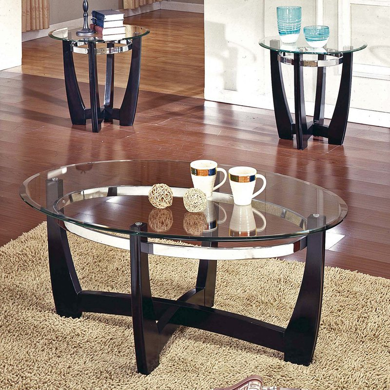 steve silver matinee coffee table set - walmart