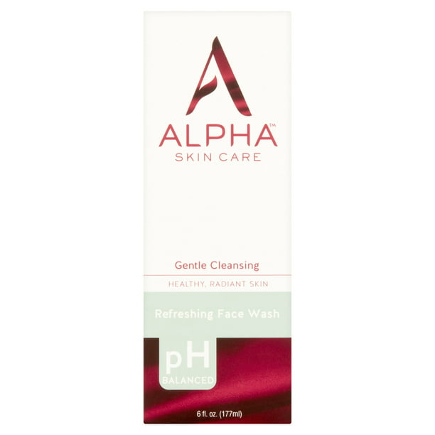 Alpha Skin Care Refreshing Face Wash 6 fl oz