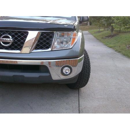 - 2010-2018 Nissan Frontier Fog Lamp Light Kit Steel or Plastic Bumper