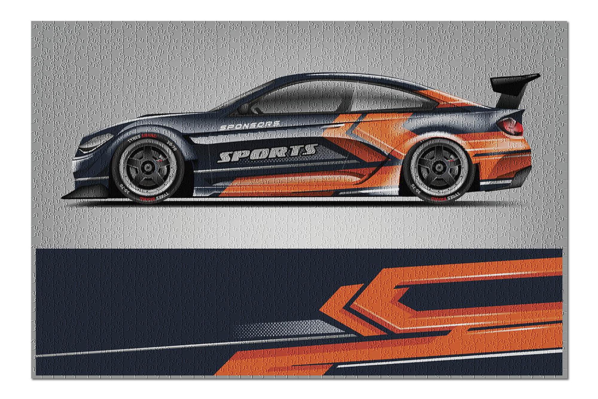 Vector of Sport Car Racing Wrap Design 9009807 (20x30 ...