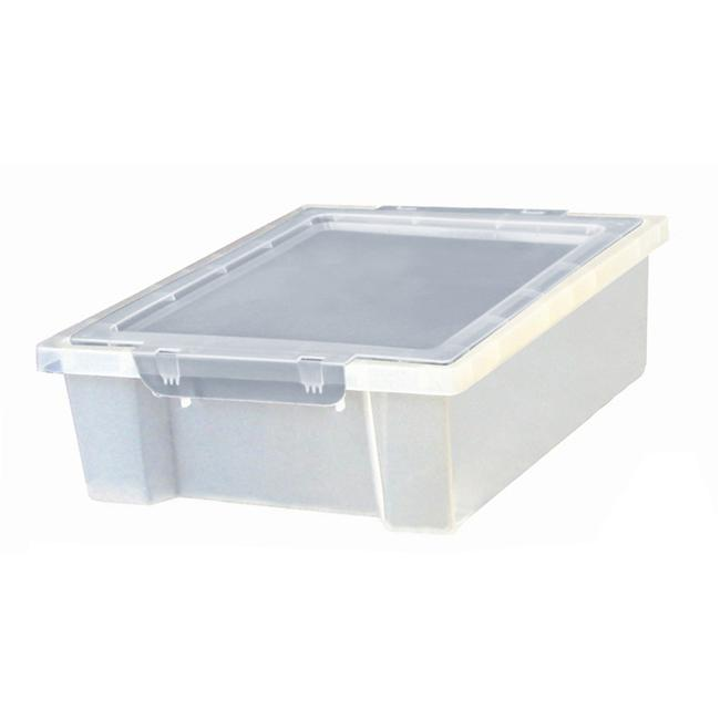Early Childhood Resource ELR-0725-CL Storage Bins and Lids Small with Lid Clear by Early Childhood Resource,LLC