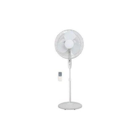 Lorell 16 floor fan w remote 3 speed 4 5 7x18 1 4x23 for 16 floor fan