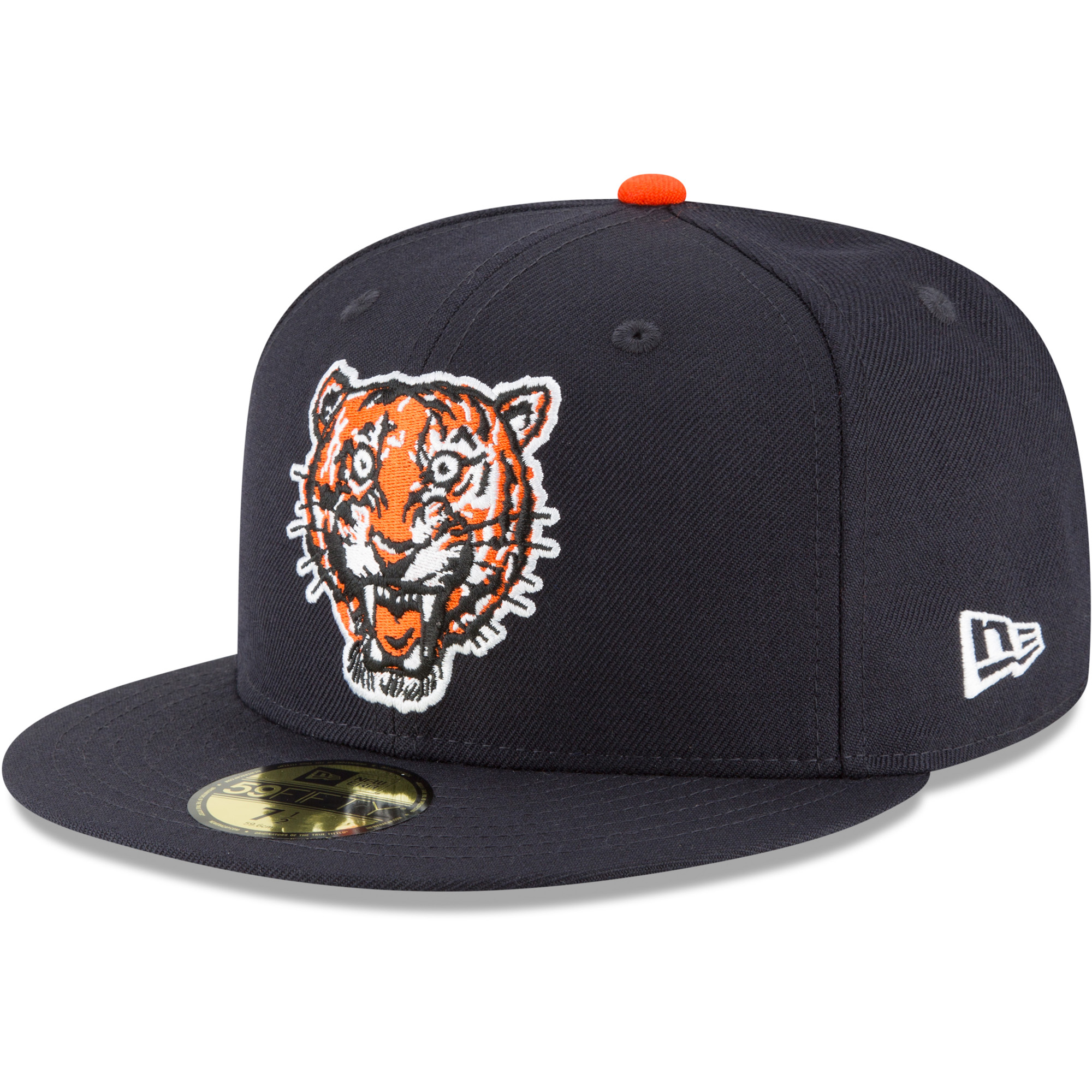 Detroit Tigers New Era Cooperstown Collection Wool 59FIFTY Fitted Hat - Navy