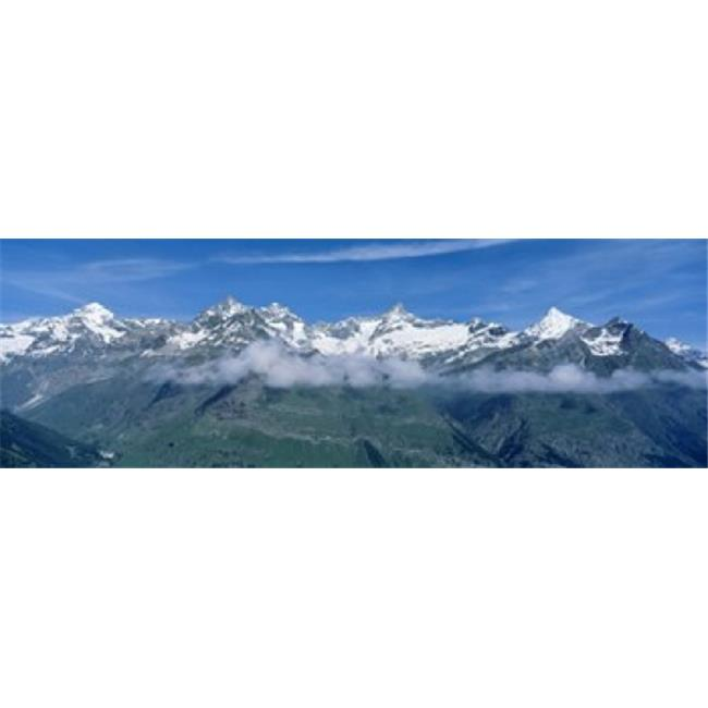 Panoramic Images PPI62026L Swiss Alps  Switzerland Poster Print by Panoramic Images - 36 x 12