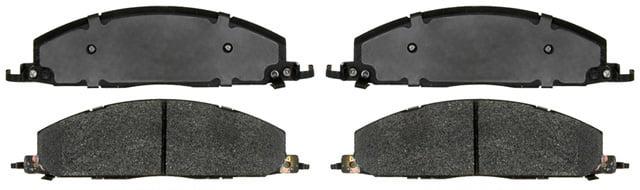 KMG Front Brake Pads for 2003-2007 Suzuki LTA 500 Vinson 4WD Non-Metallic Organic NAO Brake Pads Set