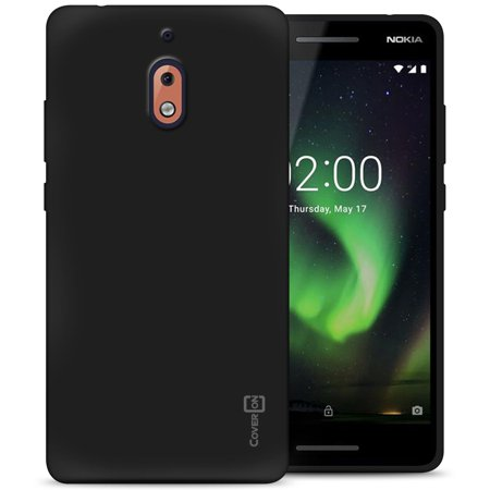 CoverON Nokia 2.1 (2018) / 2V Case, FlexGuard Series Soft Flexible Slim Fit TPU Phone Cover ()