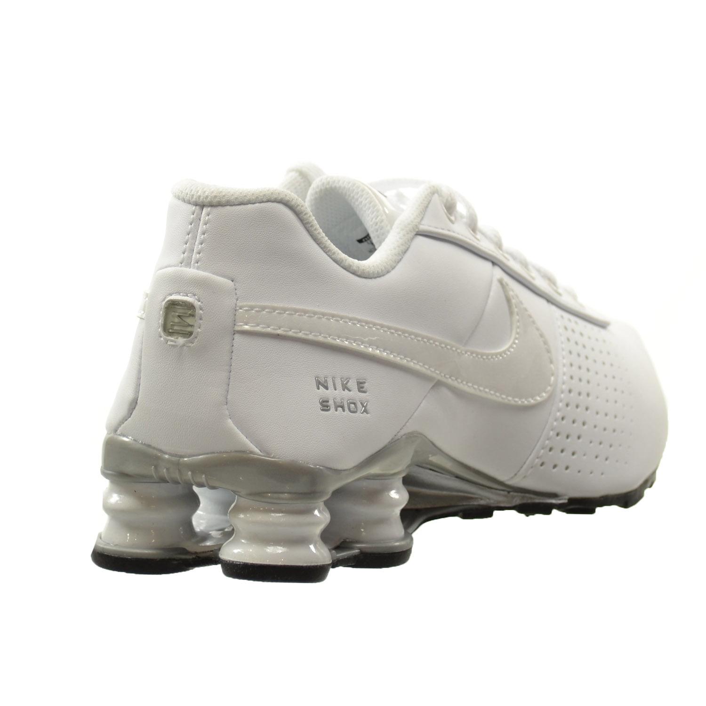 best website a64ce 73e81 wholesale all white leather nike shox 6a001 7c666  clearance nike shox  youth size 6.5 d0847 e2b09