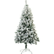 Perfect Holiday 4' Snow Flocked Artificial Christmas Tree