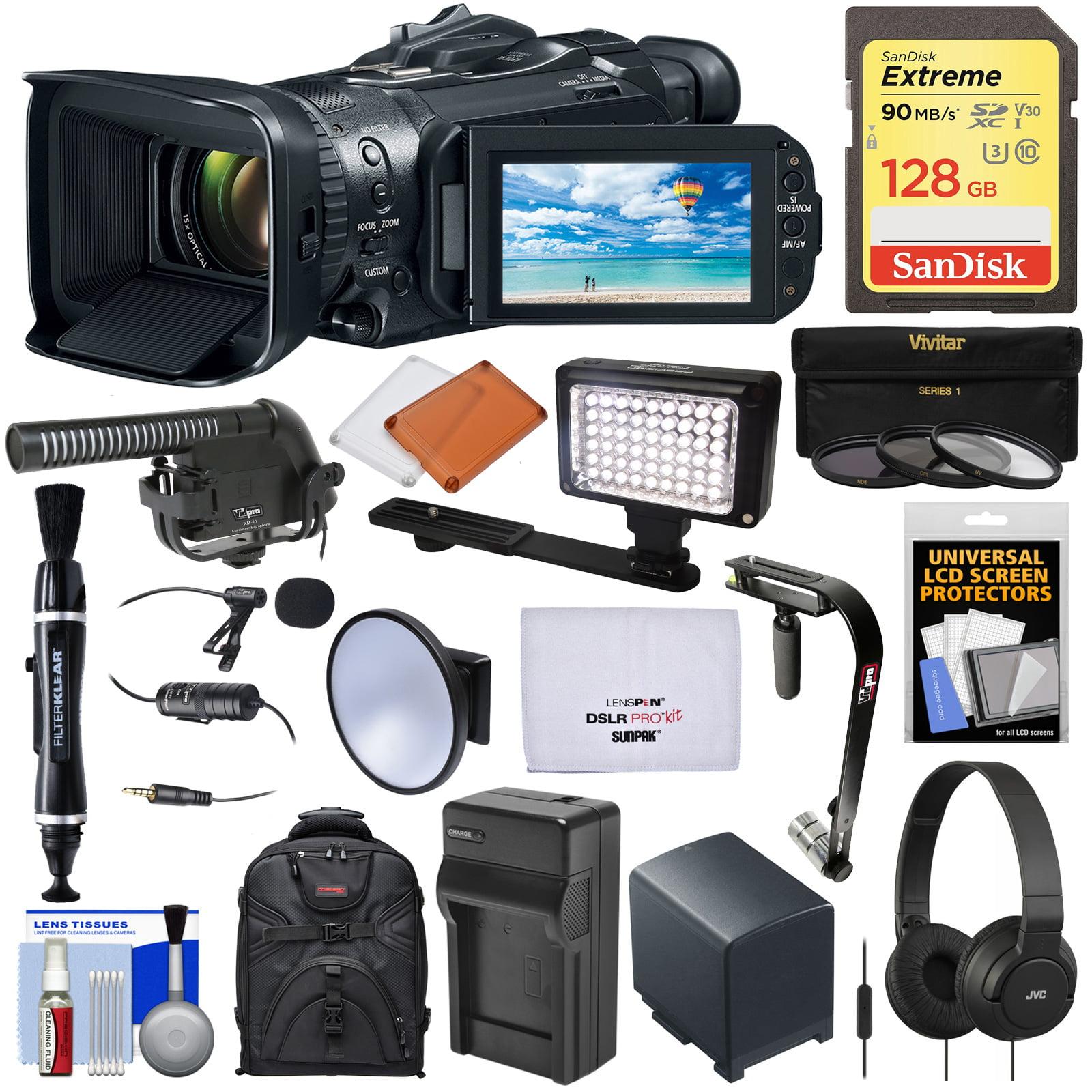 Canon Vixia GX10 Wi-Fi 4K Ultra HD Digital Video Camcorde...