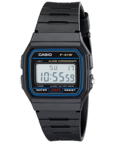 Casio F91W-1 Classic Resin Strap Sport Watch