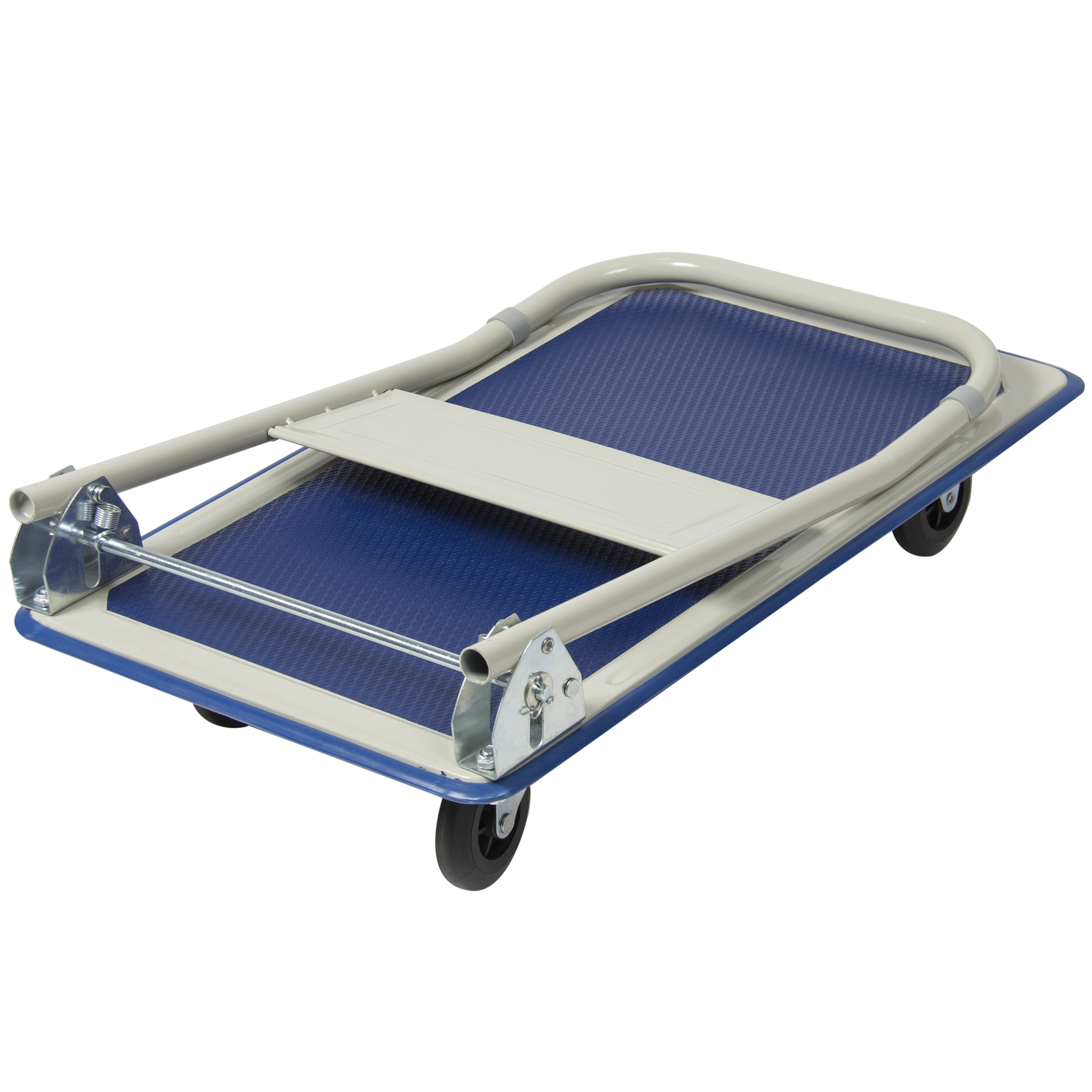 660lbs Platform Cart Folding Dolly Foldable Warehouse Moving Push