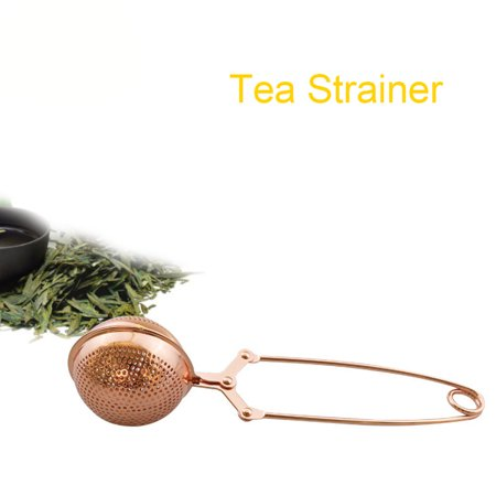Ustyle Mesh Snap Ball Loose Leaf Tea Infuser Stainless Steel Secure Locking Tea Strainer Cooking Seasoning Spices Filter - image 6 de 7