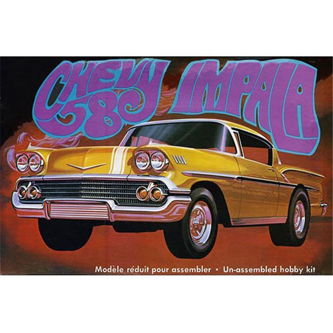 AMT AMT931 1958 Chevy Impala Car Model Kits by AMT