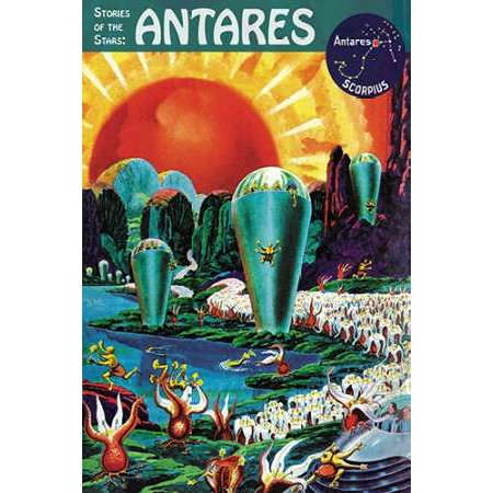 Retrosci-fi Stories of the Stars - Antares Poster Print by Frank R