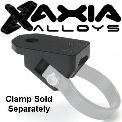 Axia Alloys Polaris RZR XP1000 Black Whip Antenna Mount 1/2 Inch Hole For 35 Degree Tube
