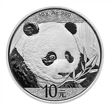 2018 Chinese Silver Panda 30 Gram Silver Coin