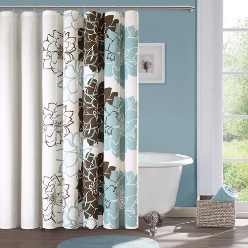 home essence jane cotton shower curtain