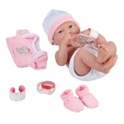 My Sweet Love Baby's First Day Pink Play Set, 10 Pieces, Featuring Realistic Newborn Doll, Perfect for Children 2+