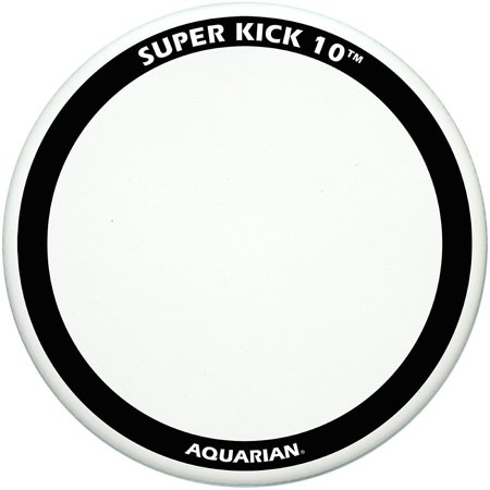 Aquarian Super-Kick 10 Bass Drum Head White Coated 22