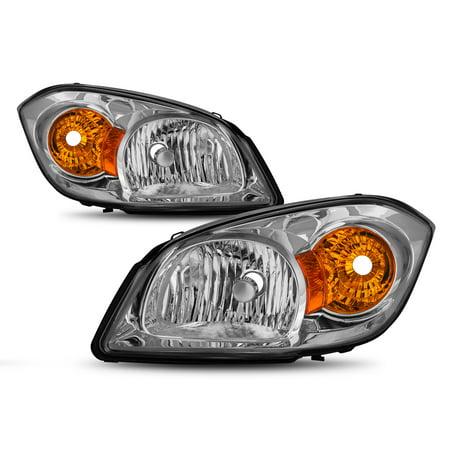 For 05-10 Chevy Cobalt | Pontiac 05-06 Pursuit | 07-10 G5 Headlamp Pair