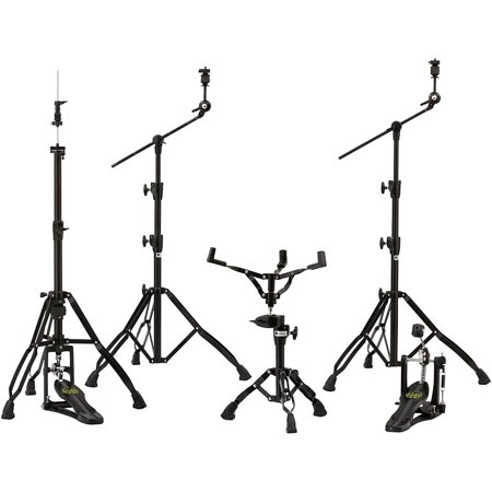 800 Series Hardware Pack (Mapex Armory 800 Series Hardware Pack W/P800 Single Pedal - Blackplated)