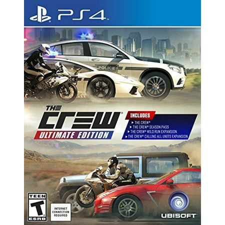 The Crew Ultimate Edition, Ubisoft, PlayStation 4, 887256024413