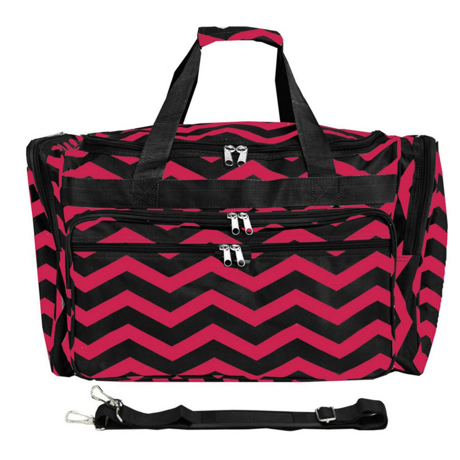 World Traveler Chevron 22 in. Travel Duffel Bag