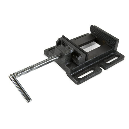 WEN 4-Inch Cast Iron Drill Press Vise Drill Press Vise Clamp