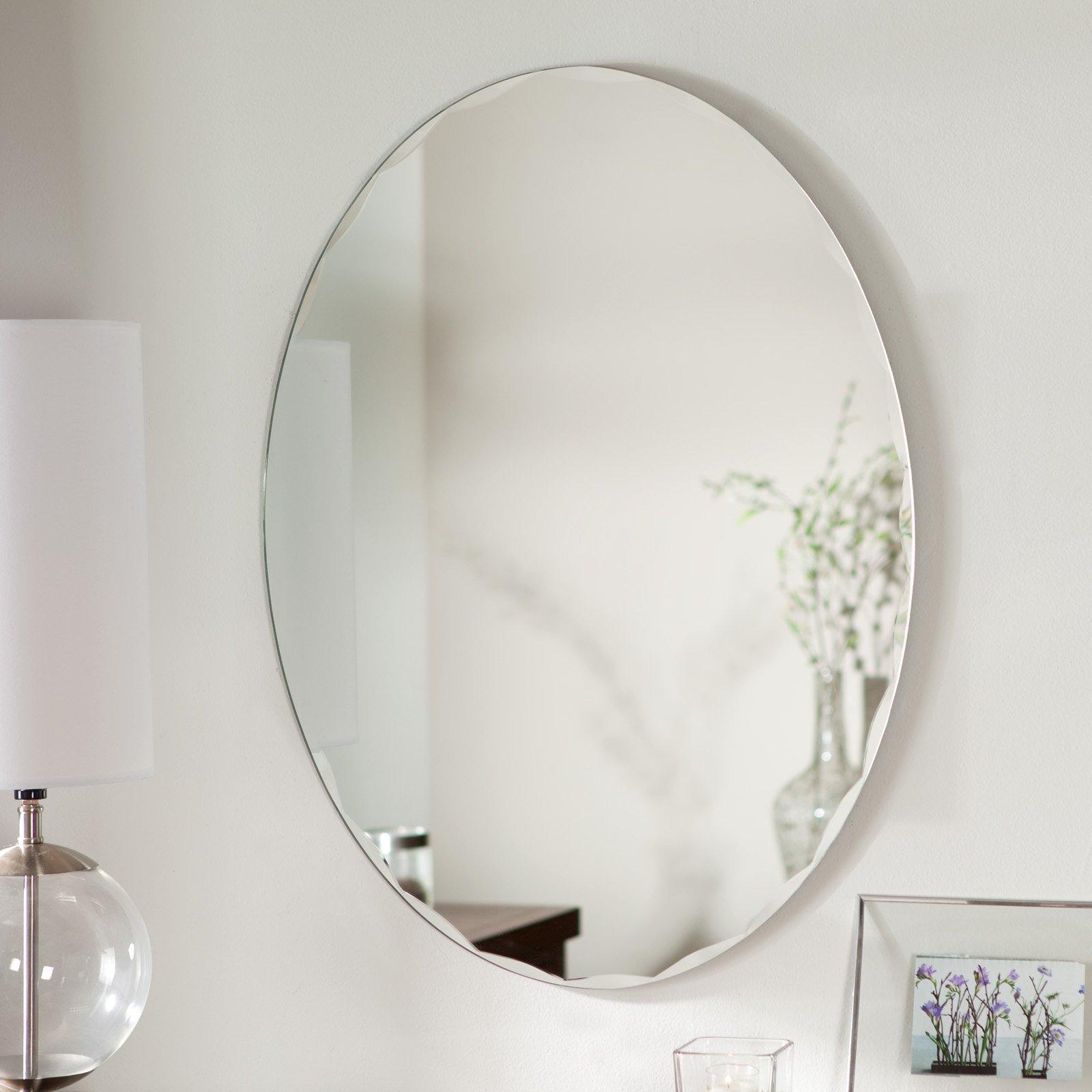 Décor Wonderland Frameless Avenue Wall Mirror 23.5W x 31.5H in. by Decor Wonderland