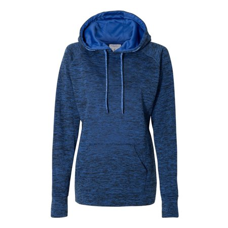 J. America Women's Cosmic Fleece Contrast Hooded Pullover Sweatshirt America Hooded Sweatshirt