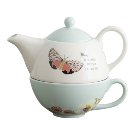 - DaySpring  -  So Thankful - Teapot and Cup Set