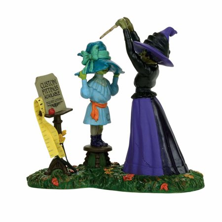 Dept 56 Snow Village Halloween 4056706 Hatties Hats Custom Fitted 2017 - Cold Spring Halloween 2017