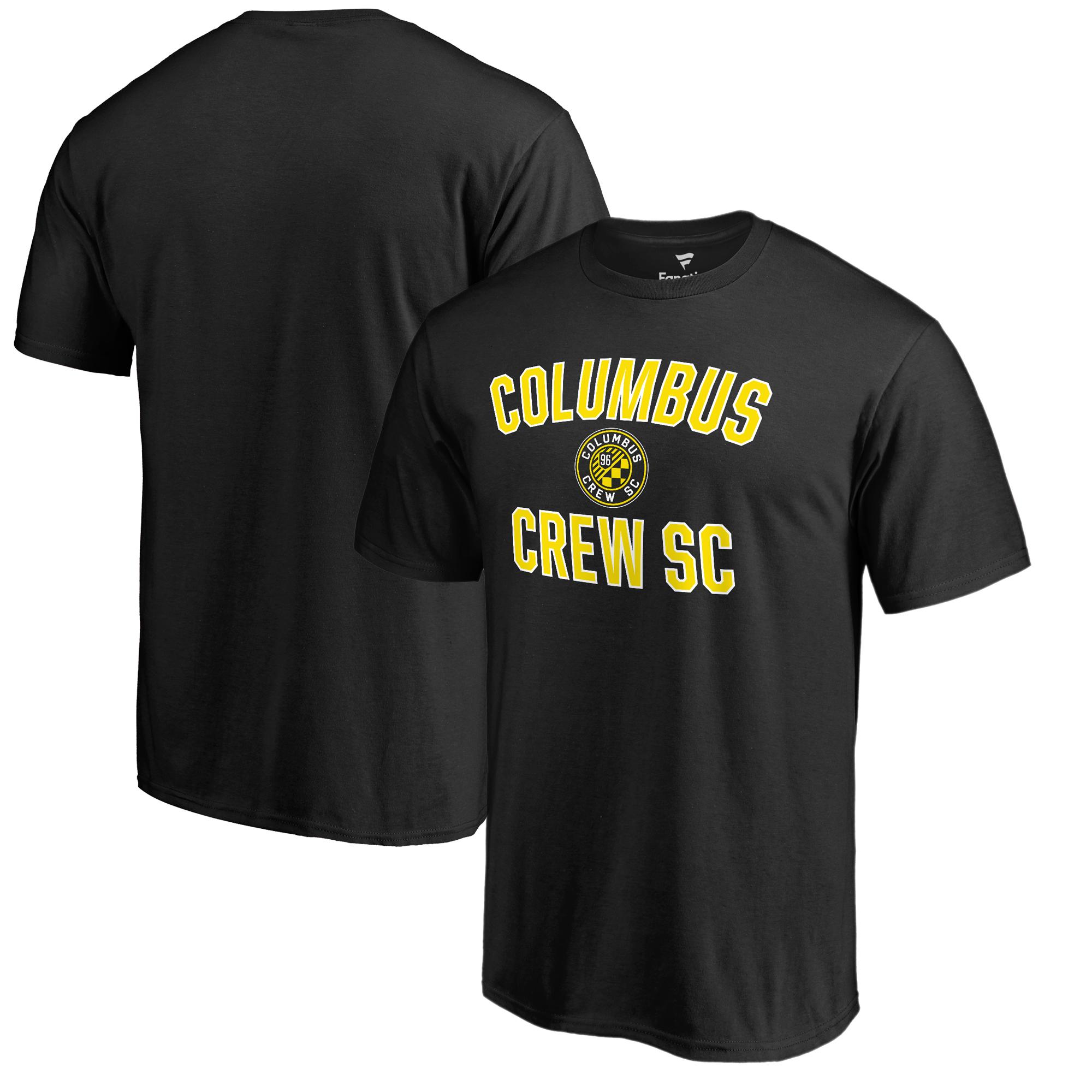 Columbus Crew SC Fanatics Branded Victory Arch T-Shirt - Black