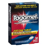 3 Pack Tagamet Acid Reducer, 200mg Cimetidine Tablets, 30 Count each