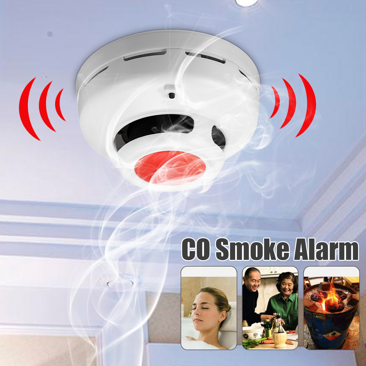 Smoke Alarms & Safety Devices for Home Alarm Monitoring | Walmart Canada
