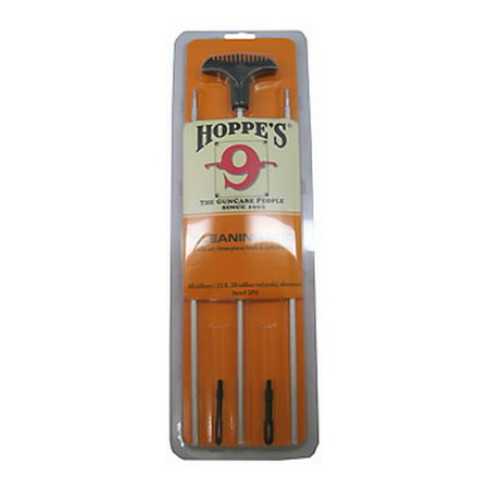 Hoppes Three Piece Rifle 3PU Rod All Caliber Aluminum 3 Piece Poly (Best All Around Rifle Caliber For North American Hunting)